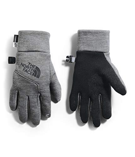 The North Face Youth Etip Glove, TNF Medium Grey Heather, L