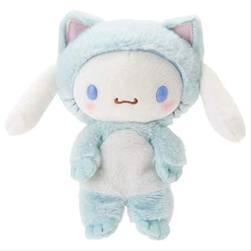 N/Z Cartoon My Melody Little Twin Stars Figure Plush Toy 25 cm Soft Stuffed Doll Cute Doll Baby Family Decoration Anime Character Doll