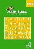 Math élem. CM2. Manuel élève CM2