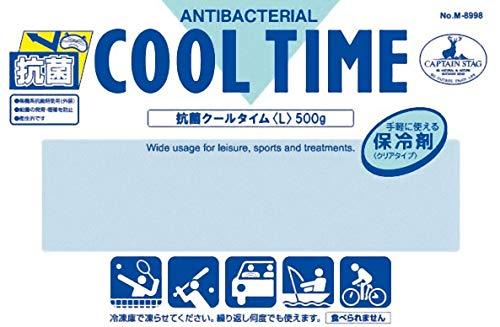 キャプテンスタッグ抗菌クールタイム(L)500gM-8998