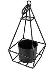 Cabilock 金属吊りプランター自由奔放に生きるプランター現代世紀半ばの植木鉢植物ホルダー