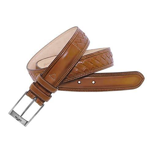 Leyva - Cinturón de hombre piel de toro de primera calidad (105...