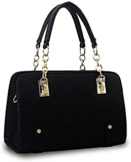 Hard surface design,PU leather handbag for ladies