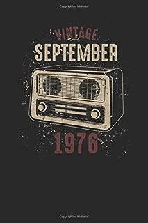 Vintage September 1976: Graph Paper Notebook / Journal (6