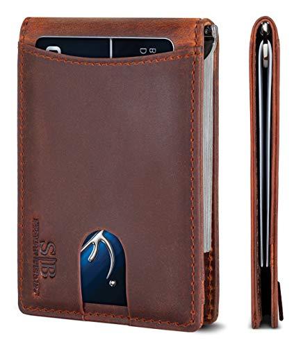 Our #1 Pick is the Serman Brands Smart Wallet