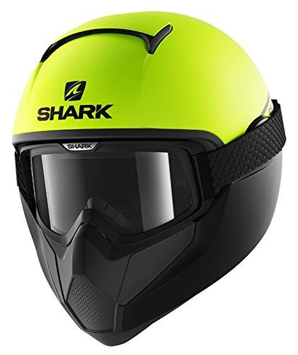 Shark Casco Integrale Vancore Street Neon, nero giallo, taglia XS