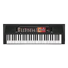 Yamaha Digital Keyboard PSR-F51, zwart - Eenvoudig & gebruiksvriendelijk beginnersinstrument met hoogwaardige instrumentgeluiden & bijbehorende stijlen – Keyboard met Duo Mode voor 2 spelers*