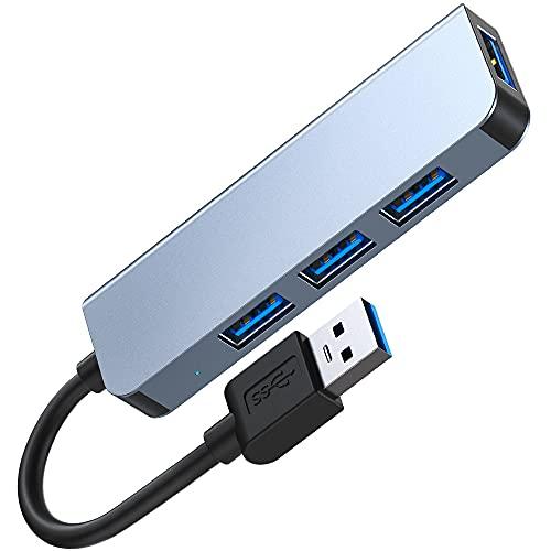 USB-Hub 3.0, 4 Ports USB 3.0/2.0,...