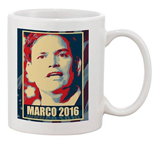 Hat Shark Ceramic Coffee Mug - Marco Rubio - 2016 Presidential Candidate Design