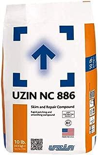 Floor Patch/Skim Coat - Floor Leveling Compound 10 lbs Bag - Concrete Crack Filler - Concrete Repair Compound - UZIN NC 886 Floor Leveling Cement Patch - Compare to Ardex Feather Finish