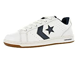powerful Converse White / Navy Curve Ox High Top Fashion Ankle Sneakers – 10.5WO 9M
