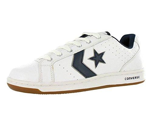 Converse Karve Ox White/Navy Ankle-High Fashion Sneaker - 10.5WO 9M