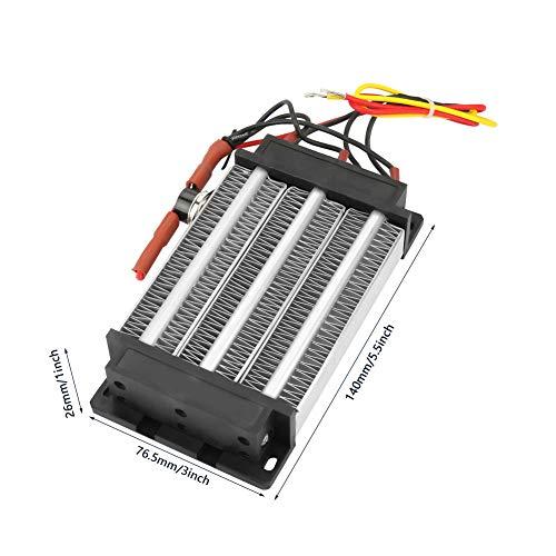 Calentador de aire PTC, calentador de aire de cerámica de baja resistencia térmica de 110 V, aparato general duradero para aire acondicionado, calentador eléctrico de instrumentos