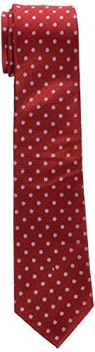 Roberto Verino 74300022012 Cravatta, Rosso, U Uomo
