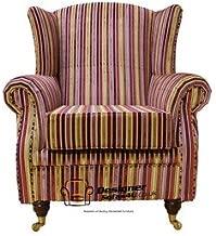 /Divano Letto a 2/posti Antique Oxblood Designer Sofas4u Chesterfield/