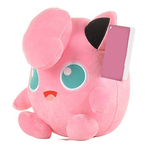 okidg 25CM Jigglypuff Plush Stuffed Dolls Animal Soft Toy Gift Stuffed Anime Cuddly Animals Baby Toy, Pillow Plush Toy Great for Children