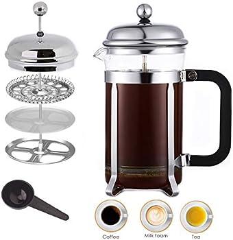 French Press Coffee Tea Maker, 21 Oz