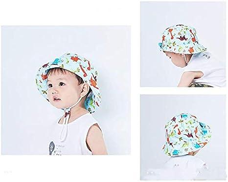 Happy Cherry Chapeau de Soleil Anti-UV Et/é Protection pour B/éb/é Enfant Fille Gar/çon Casquettes Visi/ères Bord Plage Vacances