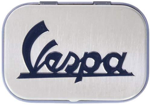 Nostalgic-Art 81381 Vespa - Logo | Pillen-Dose | Bonbon-Box | Metall | gefüllt mit Pfefferminz-Dragees