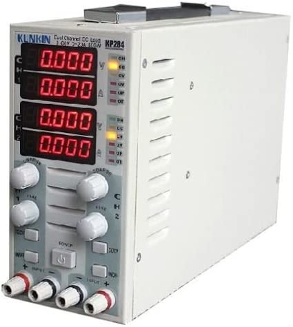 TOPCHANCES KP284 LED Display Load DC Dual 新発売 Electron ●日本正規品● Channel Meter