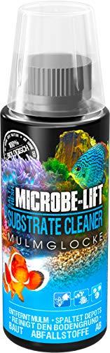MICROBE-LIFT Substrate Cleaner – hochaktive Bakterien zur Mulm- & Schmutzentfernung im Aquarium, Süß- und Meerwasser, 118ml
