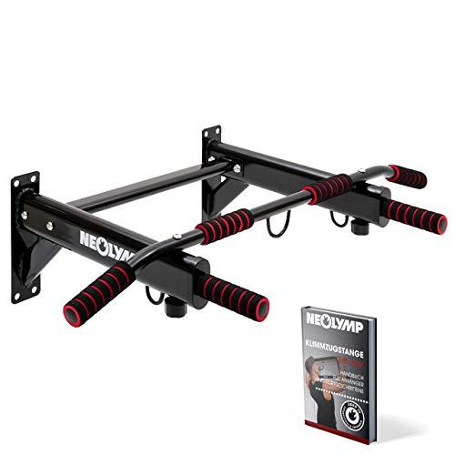 NEOLYMP Barre de tractions Barre Traction Murale Bar de Traction avec Garantie de 5 Ans et Livre électronique