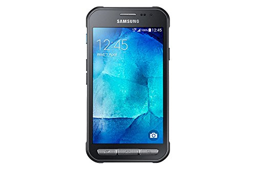Samsung Galaxy Xcover 3 SM-G389 F Smartphone entsperrt 4G (4,5 Zoll = 11,43 cm – 8 GB – Micro-SIM – Android) Dunkelsilber.