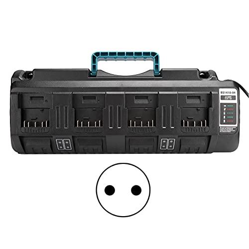 Weikeya Cargador, Compatible Cuatro-Puerto Batería Cargador Producción Actual Abdominales Anti-interferencia Poder Tablero