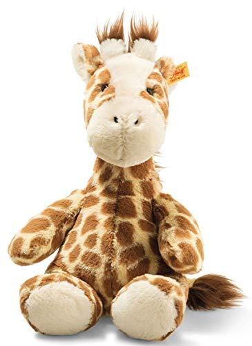 Steiff 68157 Soft Cuddly Friends Girta Giraffe, Hellbraun gefleckt, 28 cm