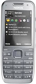 Nokia E52 Metal Aluminium Business SmartPhone Unlocked Import--International Version with NoU.S. Warranty (Grey)