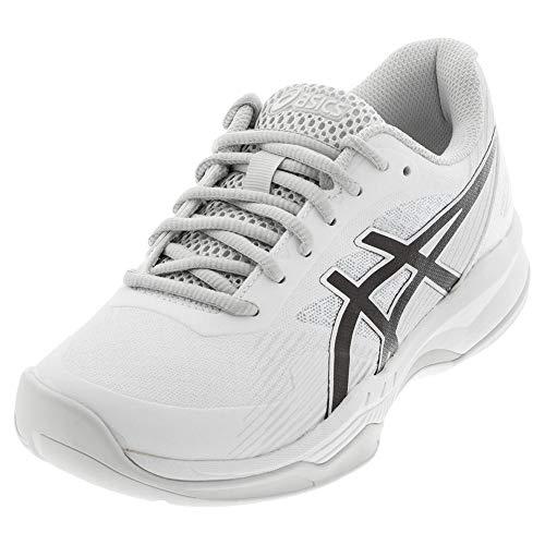 ASICS Men's Gel-Game 8 Tennis Shoes, 10.5M, White/Black