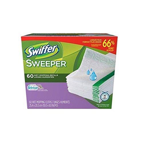 Swiffer Wet Jet Refills Febreze Lavender Vanilla & Comfort 60 ct. by Swiffer