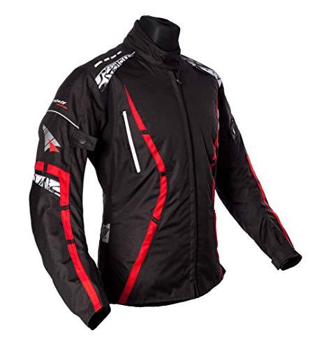 Roleff Racewear Motorradjacke Zelina, Rot, Größe XXL