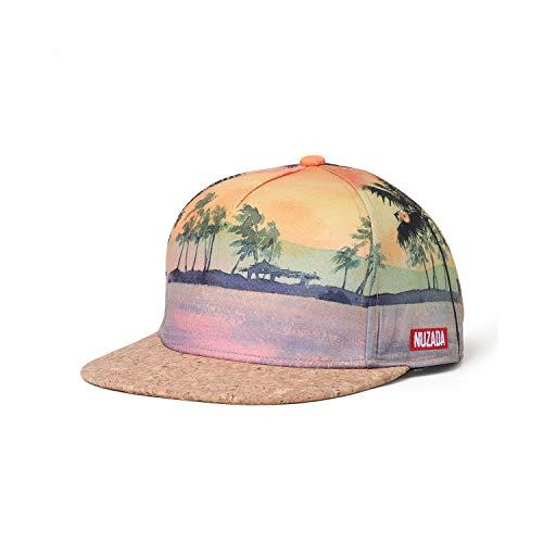 NUZADA Trucker Snapback Hats for Men Baseball Cap Hip Hop Straight Brim Yellow