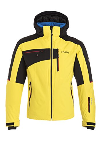 Hyra Herren Kitzbuehel Easy Line Ski Jacket, Gelb (blazing yellow/Black),IT 54/XL
