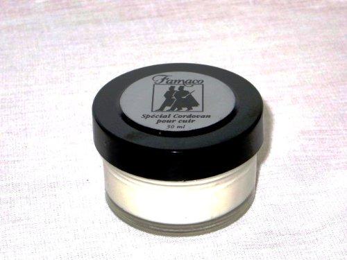 Famaco - Cordovan Pflege - Schuhcreme - Reinigt, pflegt und schützt hochwertiges Cordovan Leder. 50ml Tiegel. (50 ml)