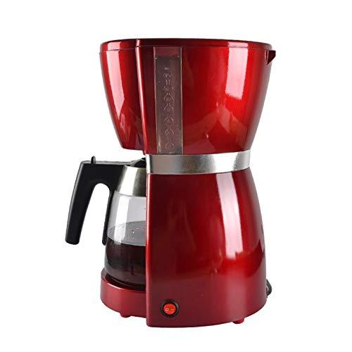 Máquina de café por goteo Máquina de café americana de 1.8 l para café latte Cappuccino automático máquina de café para el hogar rojo 1000 W