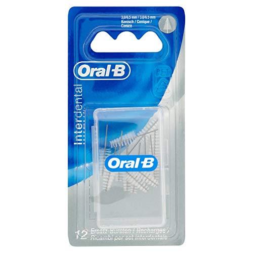 Oral-B Interdental Nachfüllpack Konisch Fein 3, 0-6,5 mm, 3er Pack (3 x 12 Stück)