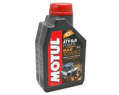3 X 1 litro Olio Motore MOTUL 4T 10W50 ATV-SxS Power 3 Litri 4 Tempi Olio Oil OEL Roller