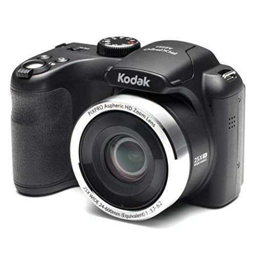Kodak AZ252 Astro Zoom Bridge Camera - Black (16 MP, 25x Optical Zoom) 3-Inch LCD...