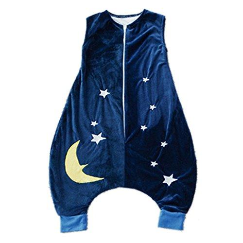 Kauftree Baby Kinder Schlafsack Ganzjahresschlafsack Außensack mit Beinen Schlafstrampler Winter Jungen Mädchen Cartoon (M für 3-5Jahre, 3)