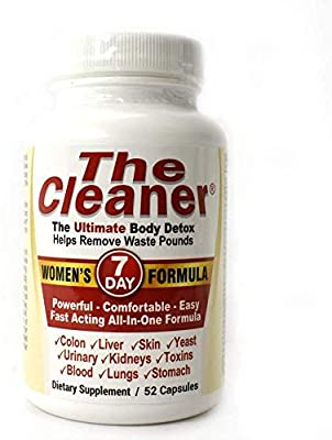 The Cleaner 7Day Women's Formula Ultimate Body Detox (52 Capsules)