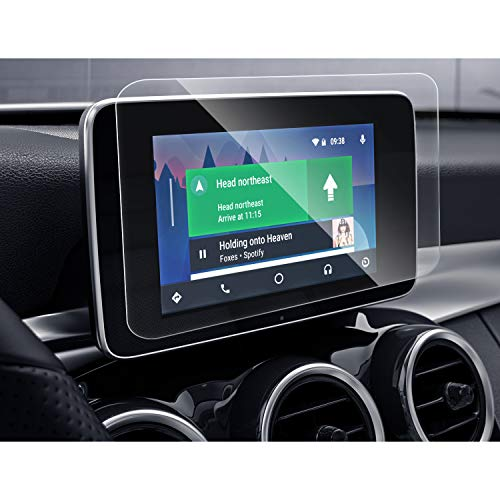 SHAOHAO Protector de pantalla para Mercedes Benz Clase C / GLC / GLC Coupe de 8,4 pulgadas GPS, transparente, resistente a los arañazos 9H antihuellas