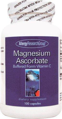 Allergy Research Group Magnesium Ascorbate - 100 Capsules Allergy Research Group Magnesium