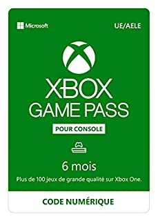 Abonnement Xbox Game Pass | 6 Mois | Xbox Live Download Code (B079Y9X9MW) | Amazon price tracker / tracking, Amazon price history charts, Amazon price watches, Amazon price drop alerts