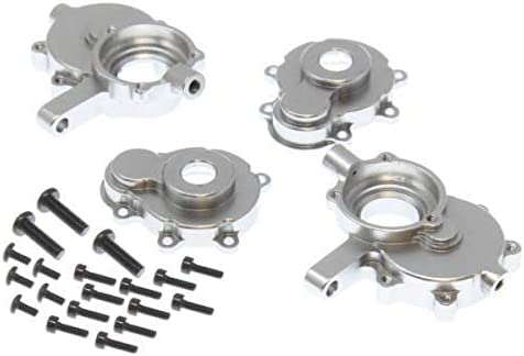 Redcat Racing RER11406 Aluminum Front Outer Portal Housing Set L R Silver product image