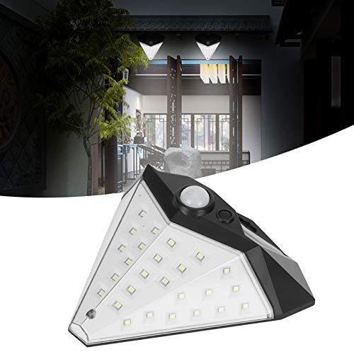 Luz solar, lâmpada de parede conveniente para vilas para telhados de portões de jardim para corredores para vitrines de parede de pátio