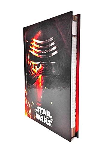 Tagebuch Star Wars Das Rezept der Macht Kylo Ren F.to Standard 2021/2022 + gratis Schlüsselanhänger Spiel Würfel und Duftstift mehrfarbig