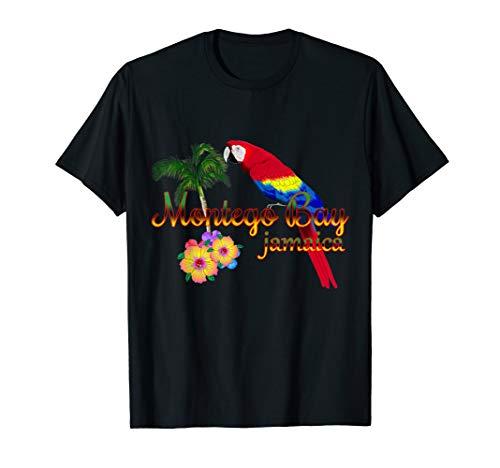 Montego Bay Jamaica Tropical Destination Beach T-Shirt