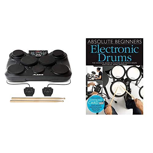 Alesis CompactKit 7 – Tabletop Electric Drum Set with 265...